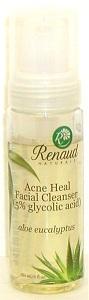 Acne Heal Foaming Facial Cleanser aloe eucalyptus