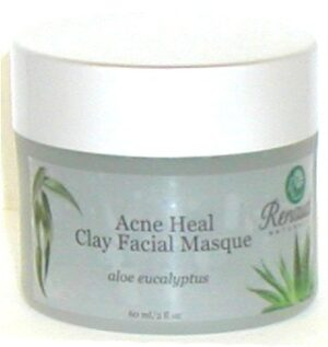 Acne Heal Green Clay Facial Masque aloe eucalyptus