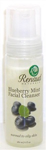 Blueberry Mint Foaming Facial Cleanser normal to oily skin