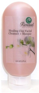 Healing Clay 2-in-1 Facial Cleanser + Masque for normal, oily & acne prone skin