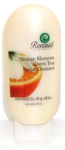 Orange Blossom Green Tea Facial Cleanser normal to dry skin