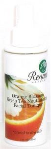 Orange Blossom Green Tea Neutralizing Facial Tonique normal to dry skin