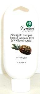 Pineapple Pumpkin Papaya Glycolic Peel (5% Glycolic Acid) all skin types